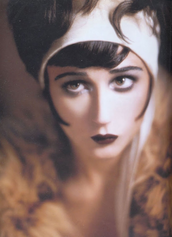 1920s Makeup: Shapes, Contours, & Of Course, Gatsby | All Roses Are ...